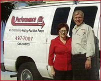 Al and Joan Graf of Performance Air Inc.